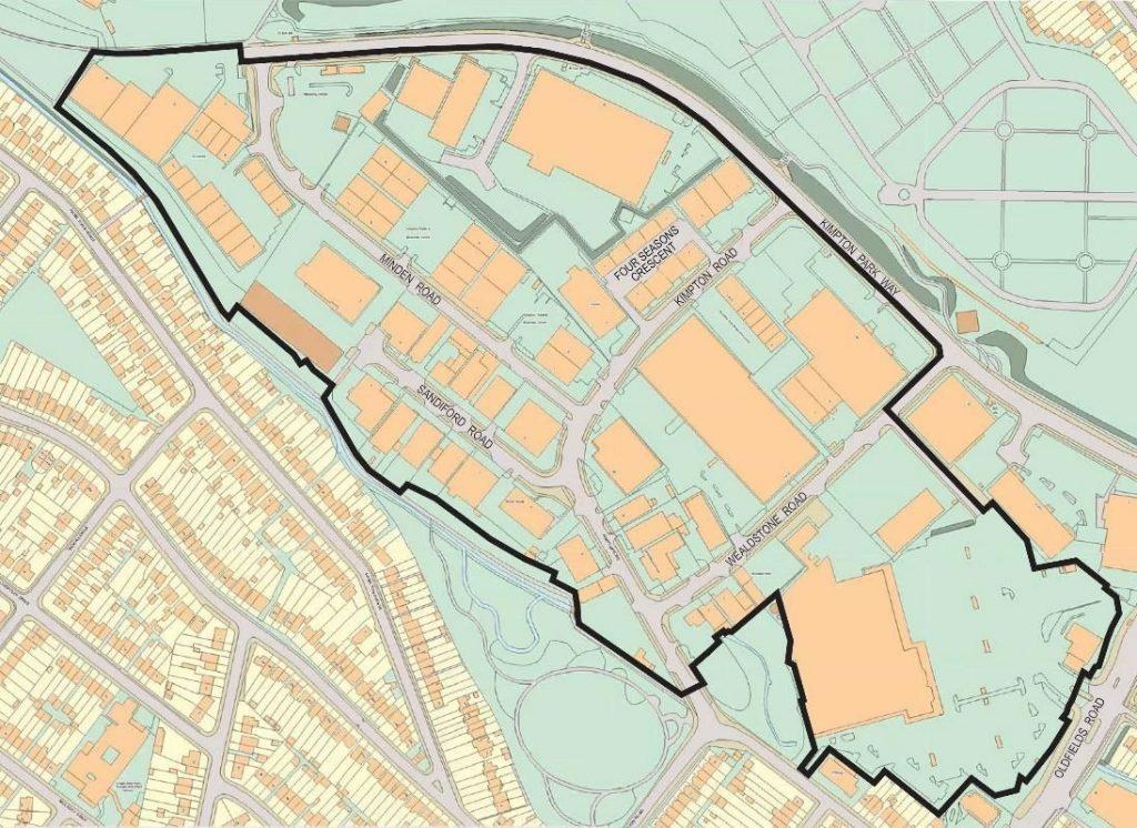 KIPPA BID area as shown in BID3