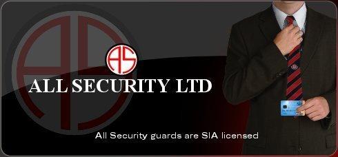 All Security Ltd Logo - Night Patrol Service to help prevent crime.