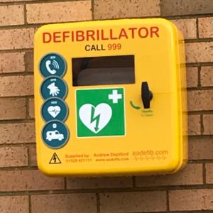 Fourth Defibrillator Installed at Adams Environmental