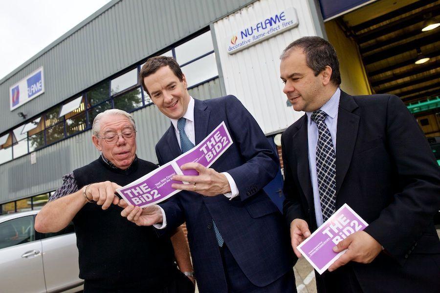 George Osborne Paul Scully take interest in KIPPA Nu Flame