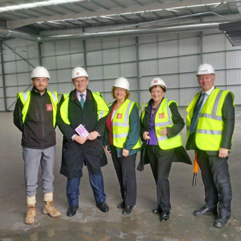 MPs Visit Design Plan in High Vis