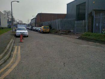 New Minden Road Exit
