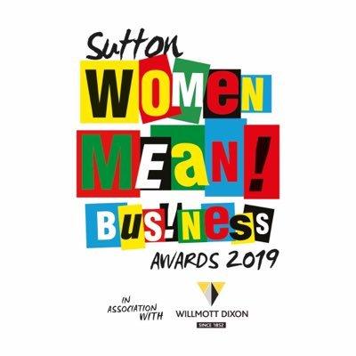 Sutton Women Mean! Business Awards 2019