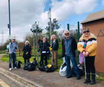 Sutton Litter Pickers at Kimpton Industrial Park